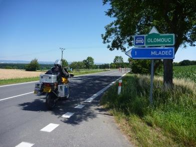 Riding to Olomouc