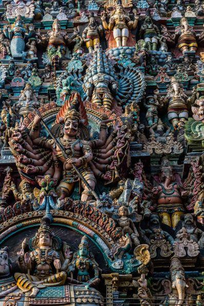 Gopuram Detail