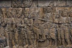Borobadur relief panel