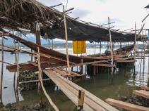 Shipyard - Large Boat under Construction