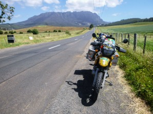 Riding in Tasmania
